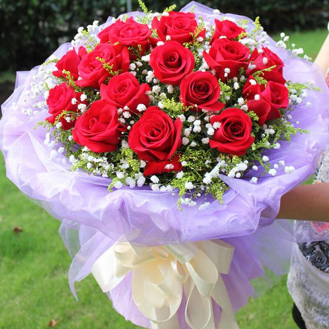 情人节送花送几朵?情人节哪里