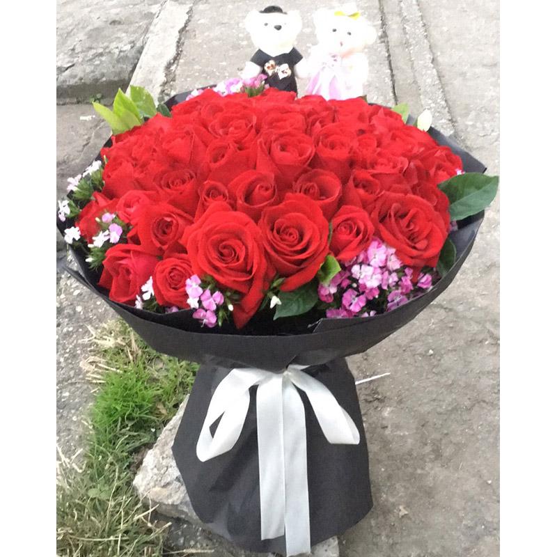 老婆生日送什么花好_老婆过生日送什么礼物比较好-168鲜花速递网